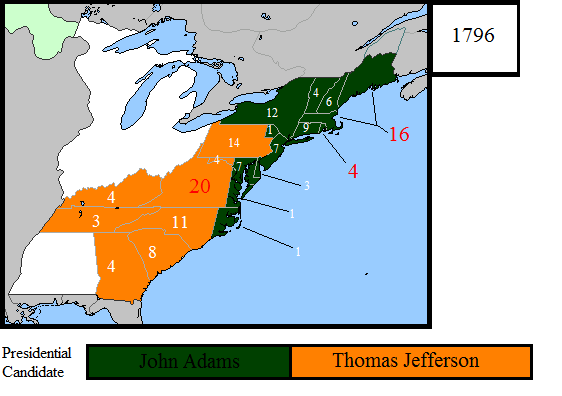 1796 Us Presidential Election Map By Louisthefox On Deviantart - Us-presidential-election-map