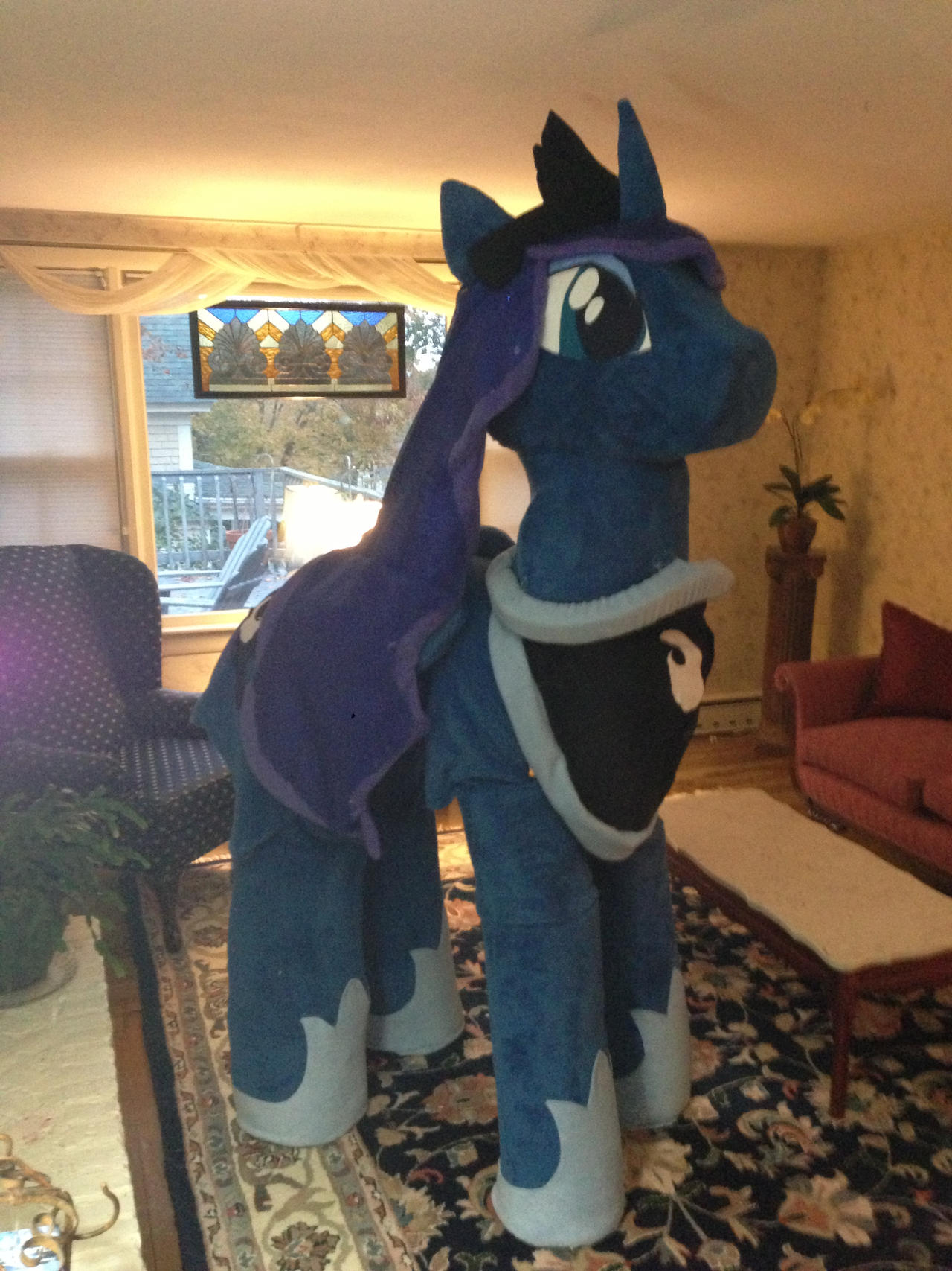 Princess Luna Cosplay Mlp Princess Luna Halloween Costume By Golemgeekery Dsmeh