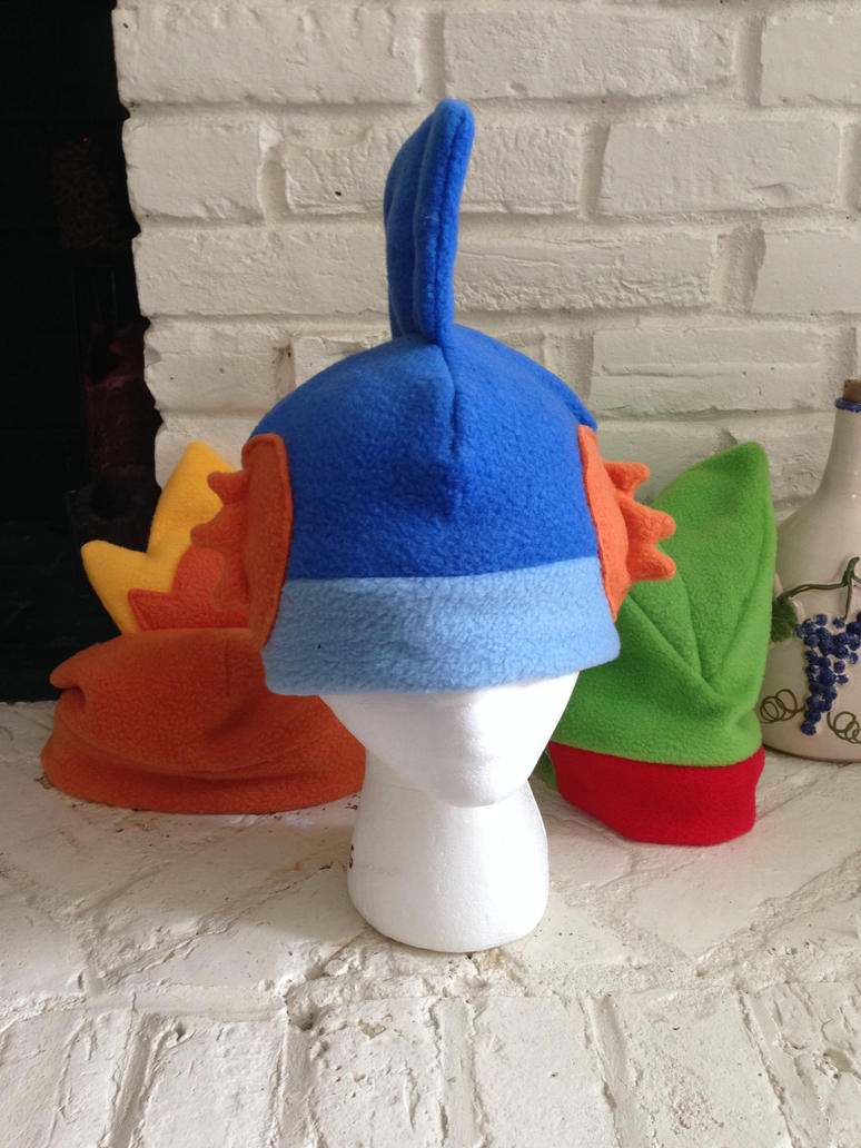 Mudkip Fleece Hat by GolemGeekery