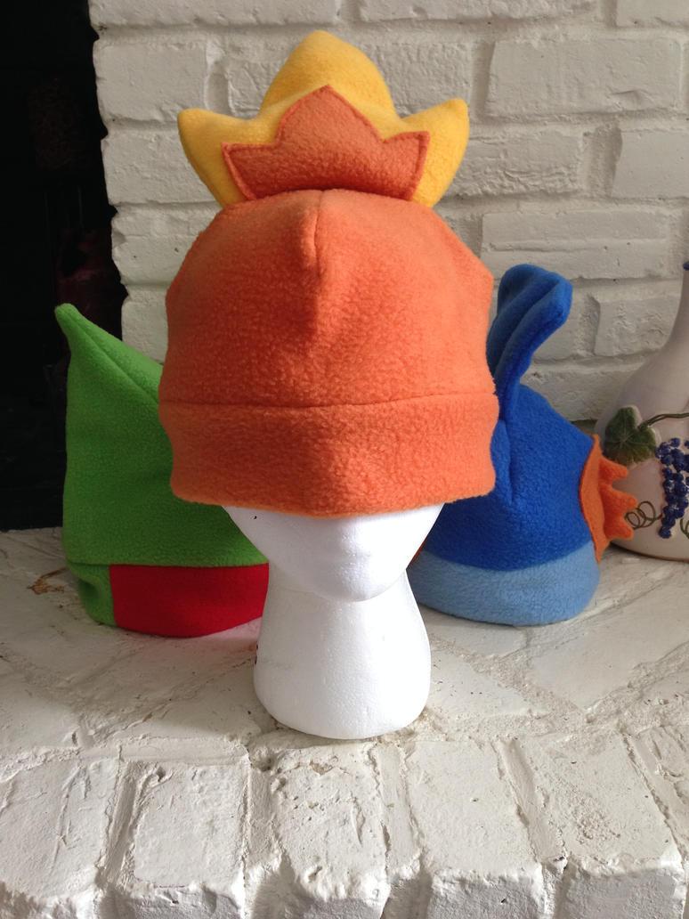 Torchic Fleece Hat by GolemGeekery