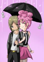 Hayffie - under my umbrella. by xXMuffin-the-BitchXx