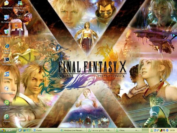 Final Fantasy X desktop by Paine45