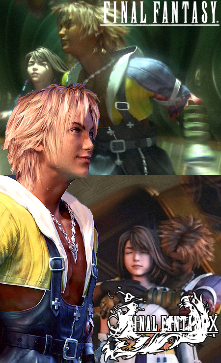 tidus and yuna by Paine45