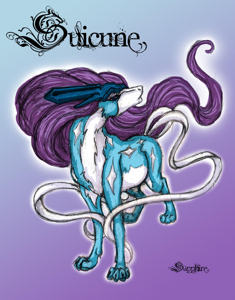 Suicune by SapphireIceAngel