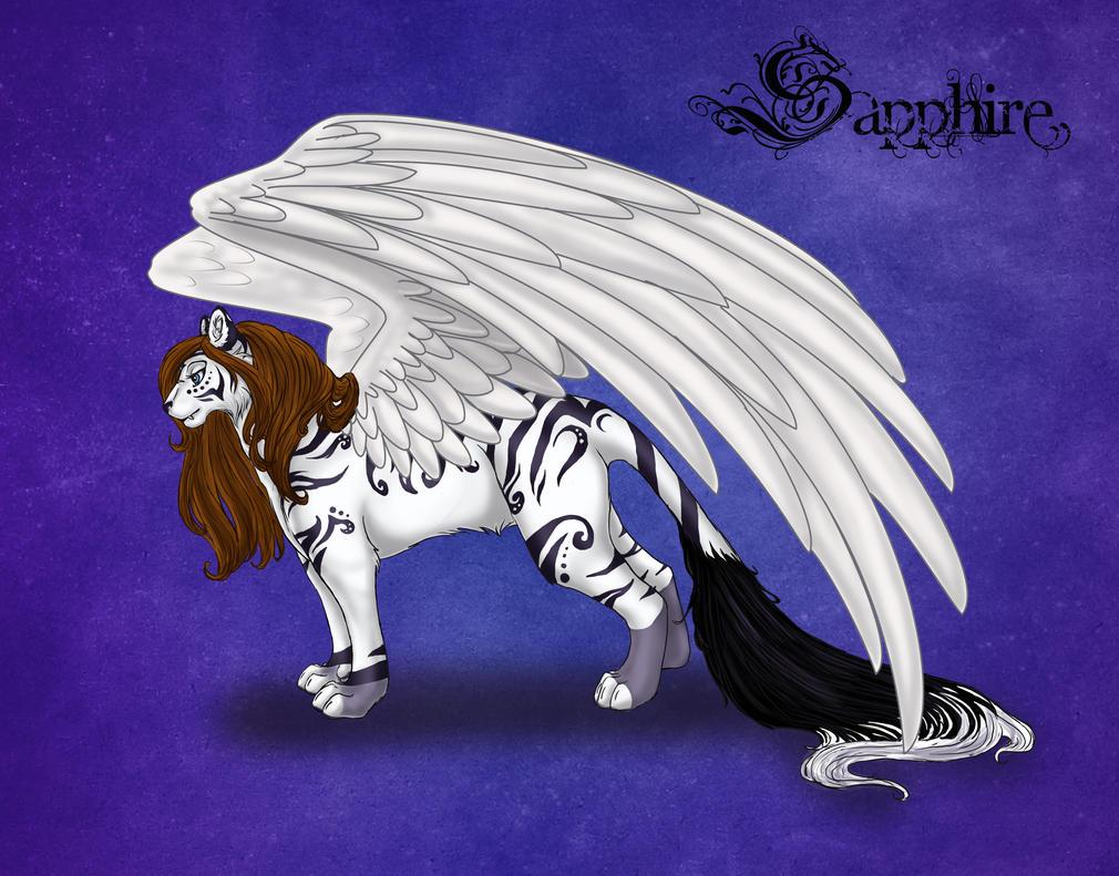 New Sapphire Design by SapphireIceAngel