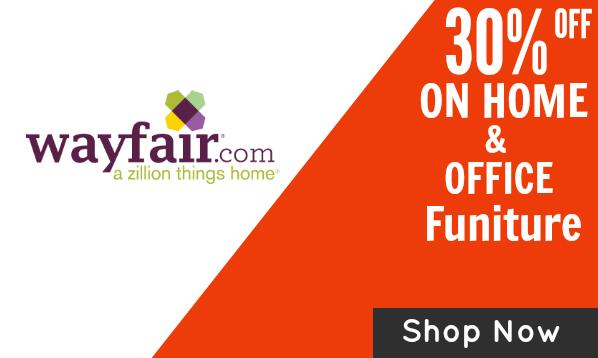 Wayfair coupon codes 10 off