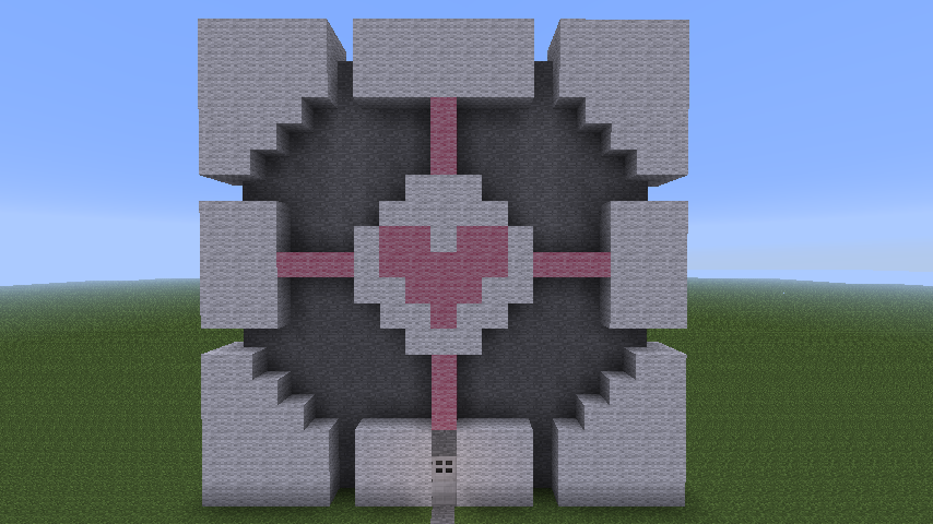minecraft companion cube by that1artguy on deviantart