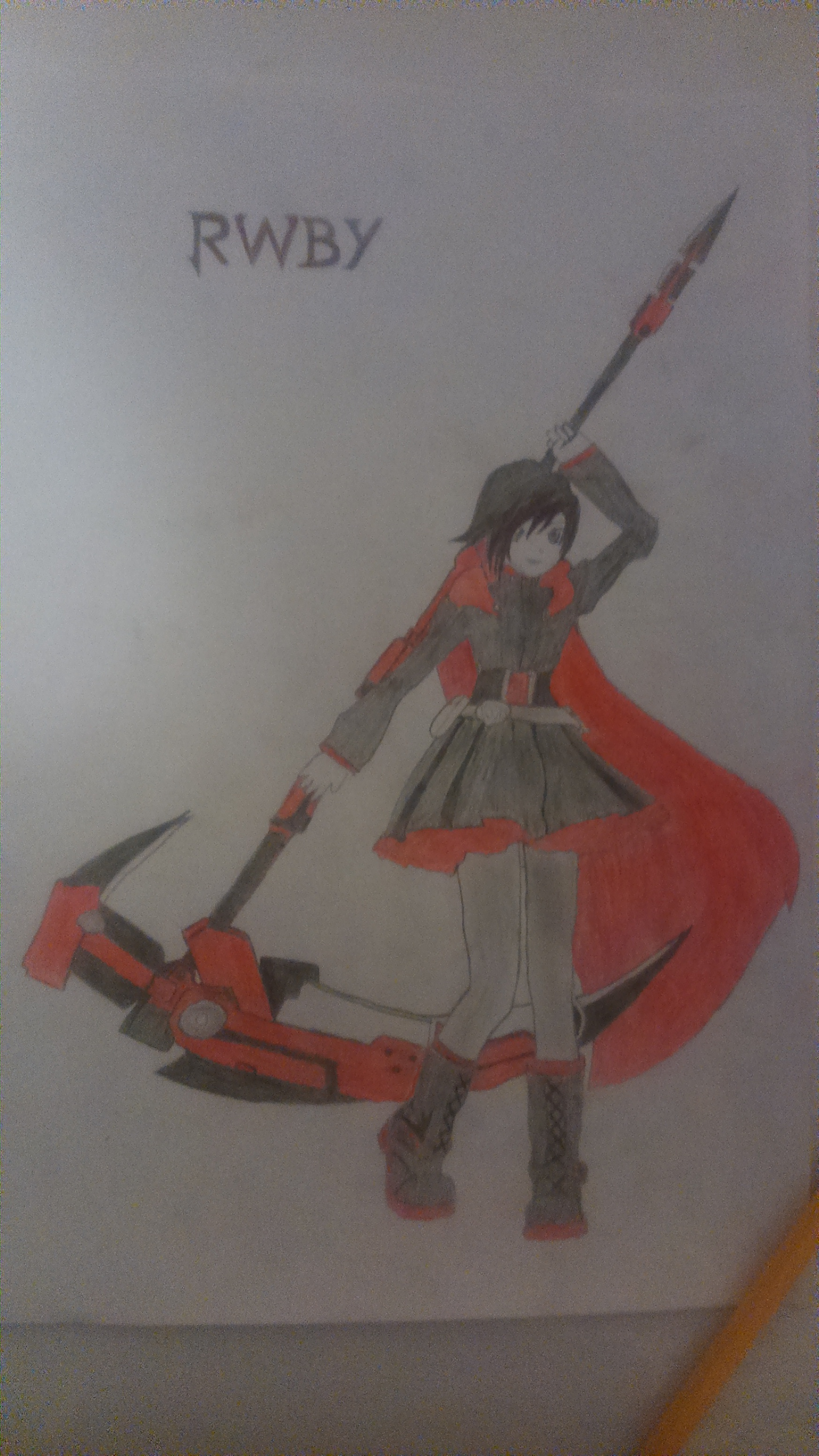 [RWBY] Ruby Rose (colored version) by TheTanlor