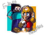 Steve And Mario [Super Smash Brothers]