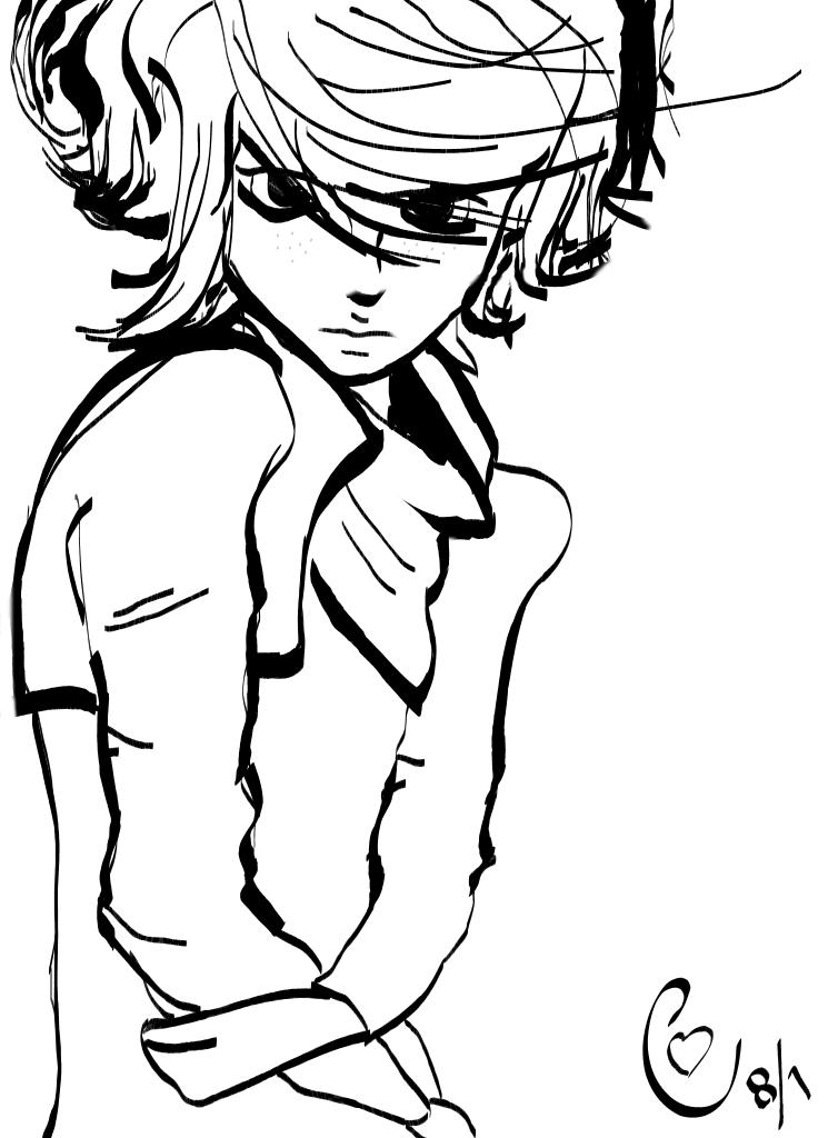 Charli (OC Sketch) by XtjpX