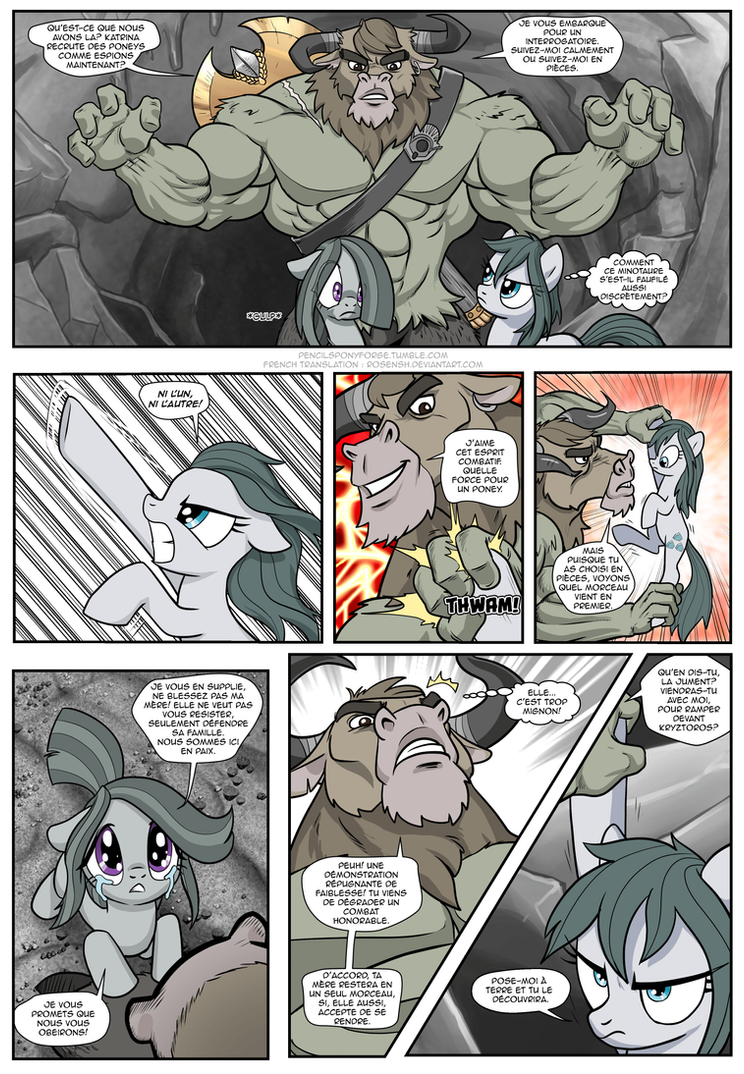 Anon's Pie Adventure [French] - Page 110 by Rosensh