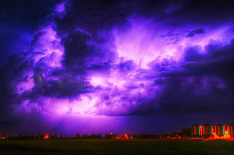 essay on stormy night