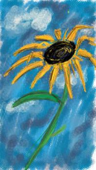 Sunflower Doodle