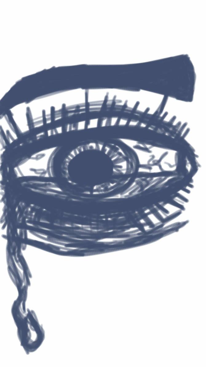 Continuous Line Eye Doodle