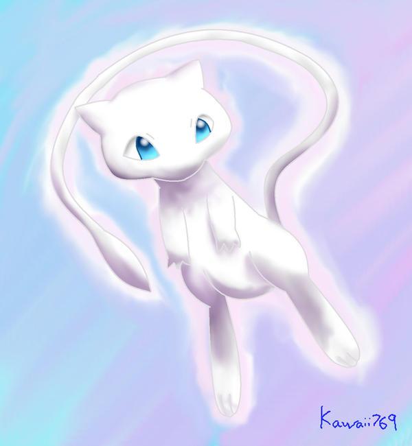 Pokemon - Mew by kawaii769