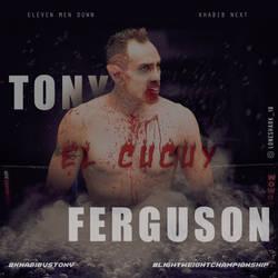Tony Ferguson vs Khabib Nurmagomedov by Nitish-Loneshark