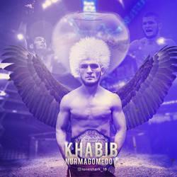 Khabib Nurmagomedov Poster by Nitish-Loneshark