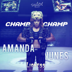 Amanda Nunes by Nitish-Loneshark