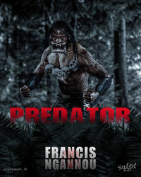 Francis THE PREDATOR Ngannou by Nitish-Loneshark