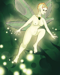 Forest Pixie by FlawedSerendipity