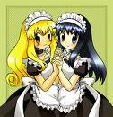 Dawn And Ashley Waitress,Maids by PokemonGirl101505