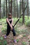 Naginata warrior 001