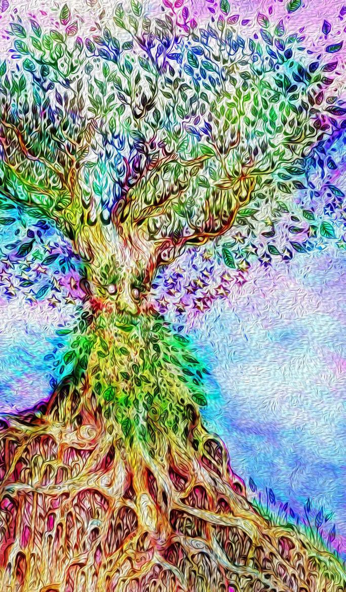 Treebeard Hobbittime by RikkiViktor