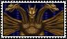 King Ghidorah Stamp by HugePokemonFan
