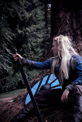 Lagertha cosplay by K-a-o-r-i
