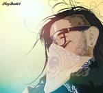 Skrillex in sunshine by PixyDee123