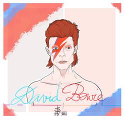 David Bowie by SarahBelmas