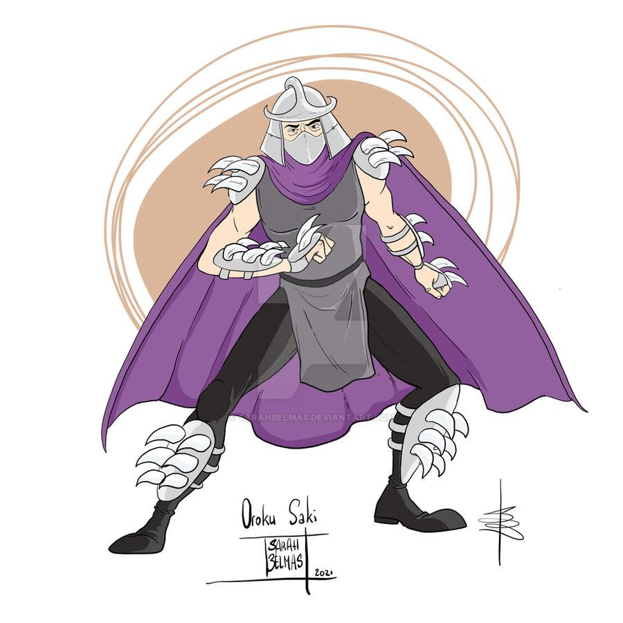 Oroku Saki - The Shredder
