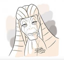 The crying Maestro by SarahBelmas