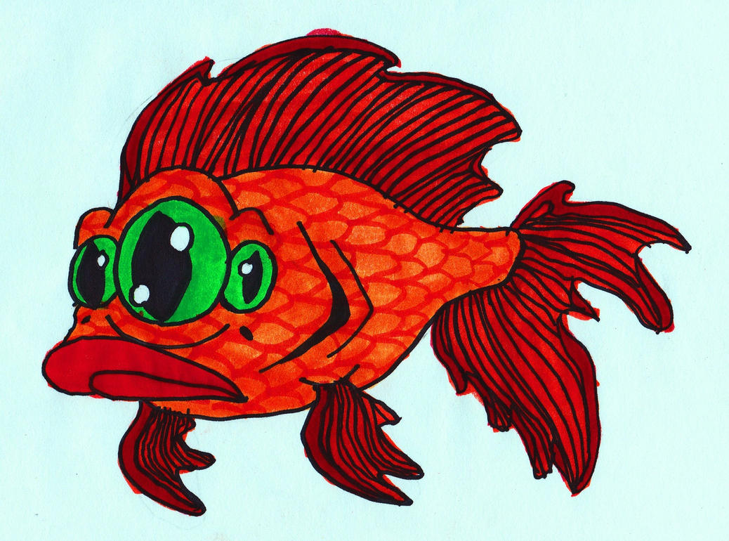 Blinky by averagejoeartwork on deviantart for Blinky the fish