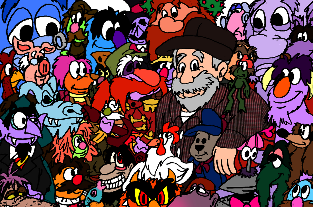 78 years of Mr. Jerry Nelson! (colored) by AverageJoeArtwork