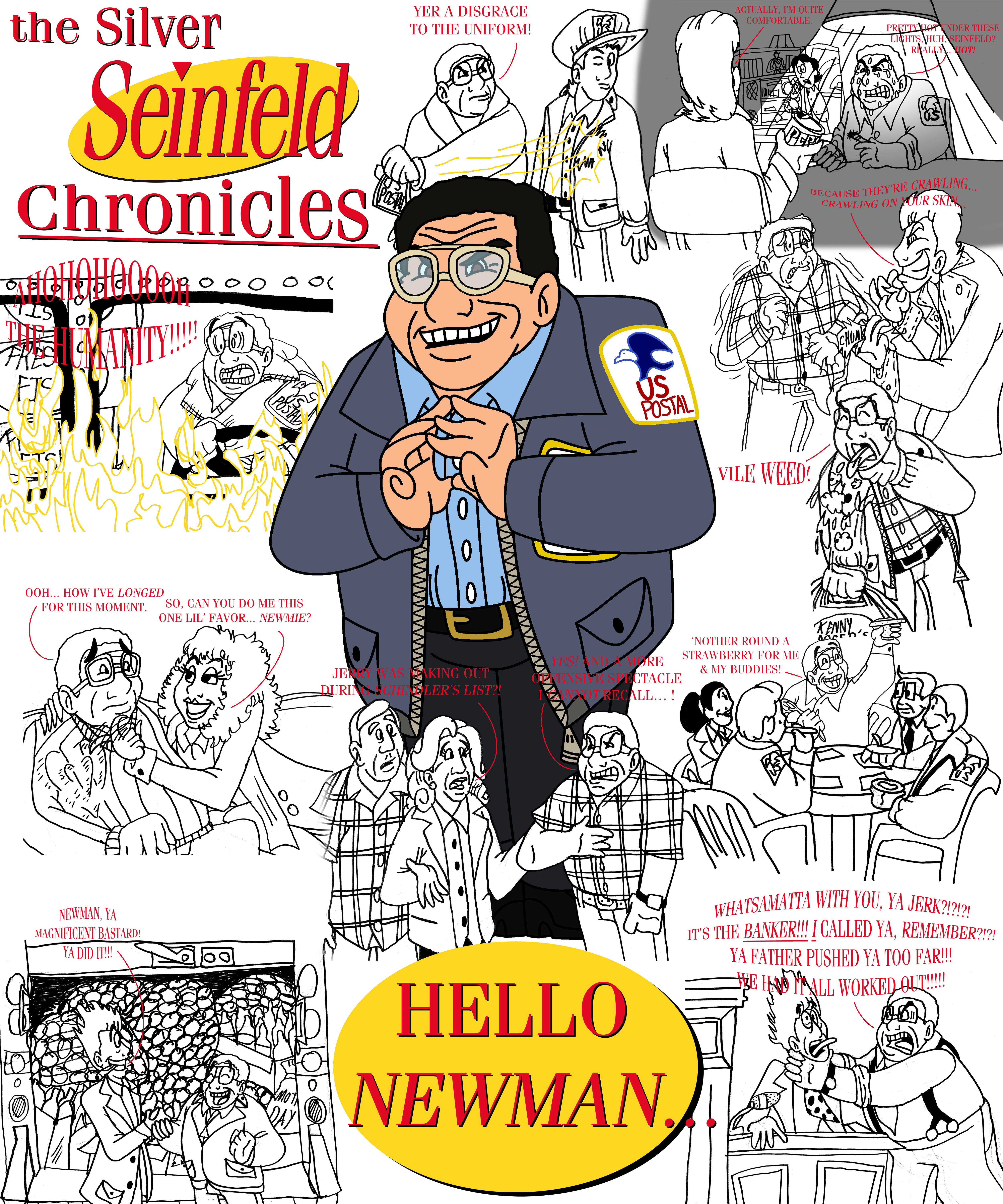 The Silver Seinfeld Chronicles Part 4 Newman By