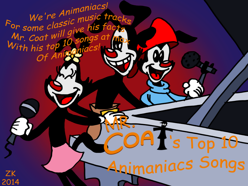 Mr. Coat: Top 10 Animaniacs Songs title card by AverageJoeArtwork