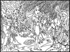 Pocahontas by AverageJoeArtwork