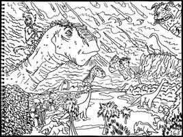 Dinosaur by AverageJoeArtwork