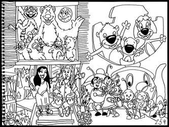 the First Shows of Playhouse Disney by AverageJoeArtwork