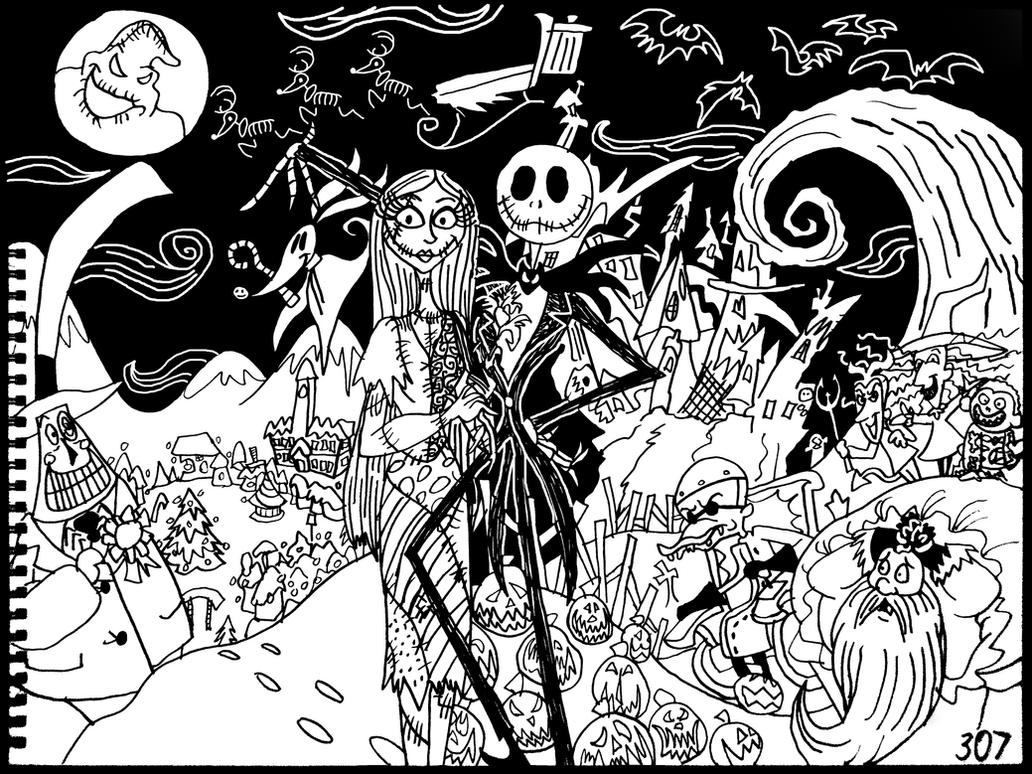 the Nightmare Before Christmas by AverageJoeArtwork on DeviantArt