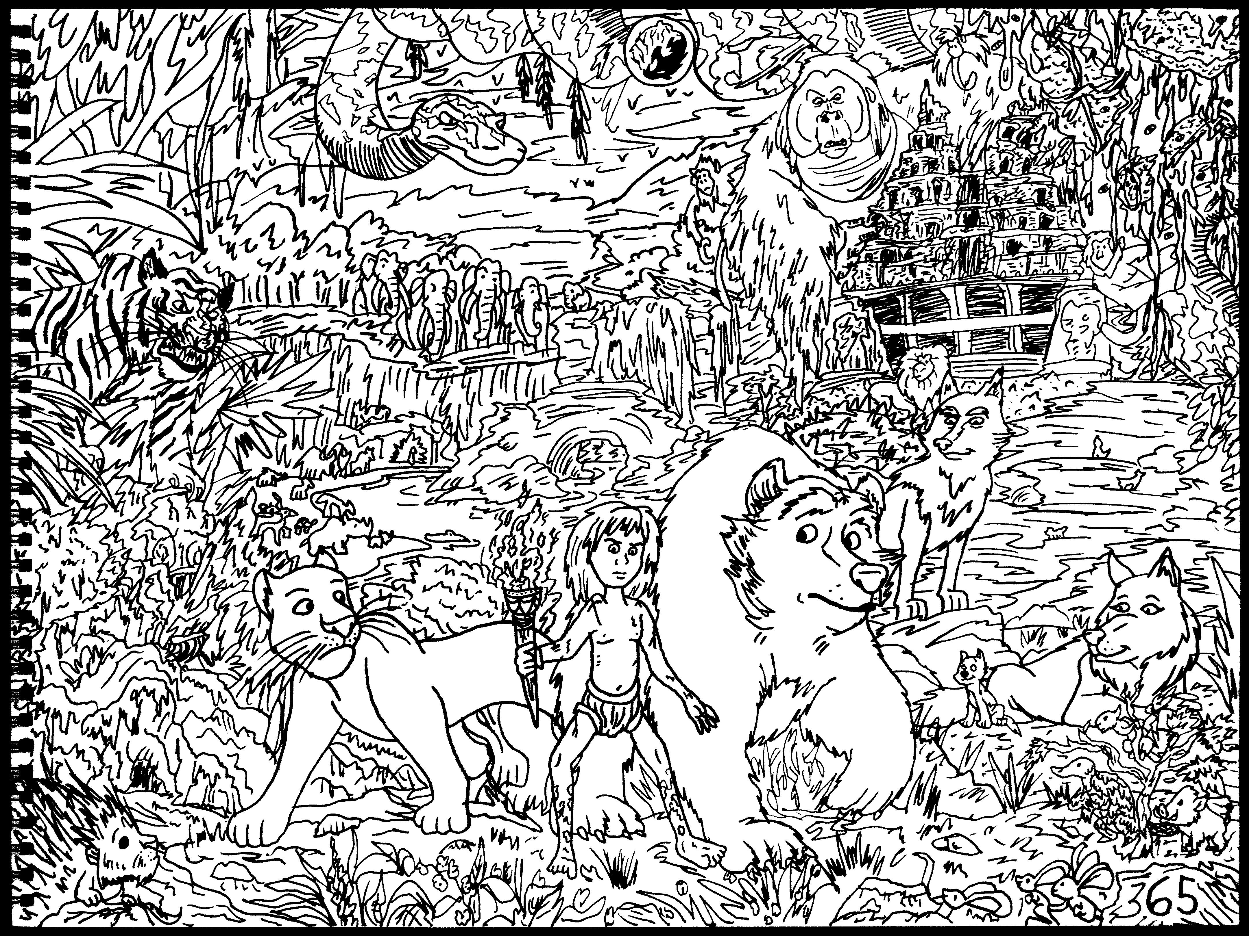 The Jungle Book 2016 Film By Averagejoeartwork On Deviantart