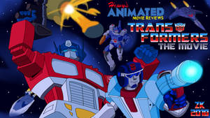 HAMR: Transformers the Movie title card by AverageJoeArtwork