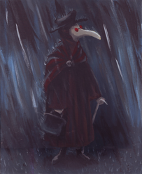 Plague Doctor by evilseedlet