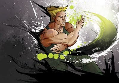 GUILE, sonic Boom by Natachouille