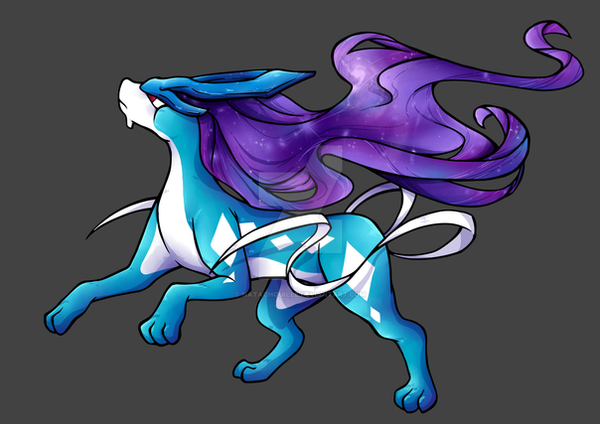 Suicune by Natachouille