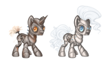 Mlp RoboPony Adopts OPEN by JunkDrawerAdopts