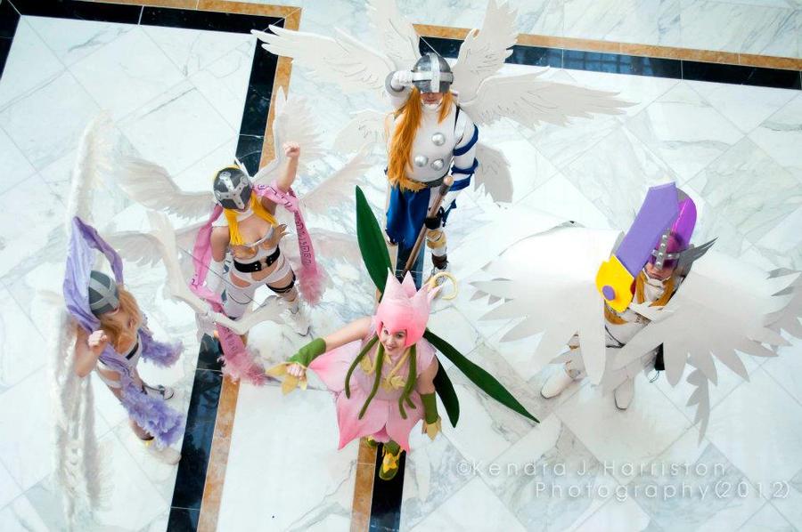 Generation 1 Digimon Group! by itsthekitsunekid on DeviantArt