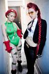 Cammy White and Crimson Viper