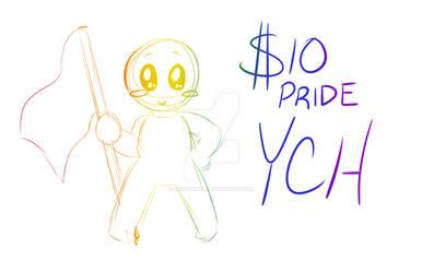 $10 PRIDE YCH!! by kingdomgal47